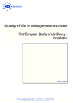 Quality of life in enlargement countries: Third European Quality of Life Survey – Introduction