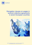 Derogation clauses on wages in sectoral collective agreements in seven European countries