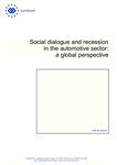 Social dialogue and recession in the automotive sector: a global perspective