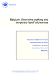 Belgium: Short-time working and temporary layoff allowances