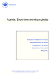 Austria: Short-time working subsidy