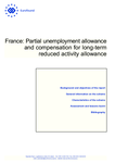 France: Partial unemployment allowance and compensation for long-term reduced activity allowance