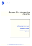 Germany: Short-time working allowance