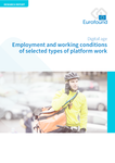 Employment and working conditions of selected types of platform work