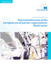 Representativeness of the European social partner organisations – Metal sector