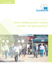 Does employment status matter for job quality?