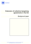 Extension of collective bargaining agreements in the EU - Background paper