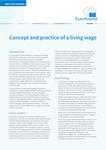 Iztikas minimuma koncepcija un prakse