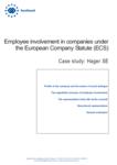 Employee involvement in companies under the European Company Statute (ECS): Hager SE