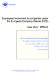 Employee involvement in companies under the European Company Statute (ECS): MAN SE