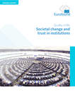 Societal change and trust in institutions