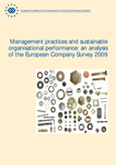 Management practices and sustainable organisational performance: an analysis of the European Company Survey 2009