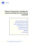 Poland: Employment subsidies for reduced working time and training subsidies