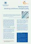 Banking sector: Working conditions and job quality