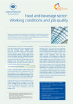 Food and beverage sector: Working conditions and job quality
