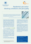 Residential care sector: Working conditions and job quality