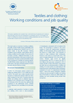 Textiles and clothing: Working conditions and job quality