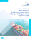 Trade scenario: Employment implications in Europe of a large increase in global tariffs