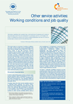 Other service activities: Working conditions and job quality