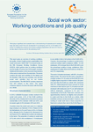 Social work sector: Working conditions and job quality
