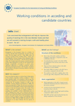 Working conditions in acceding and candidate countries (info sheet)