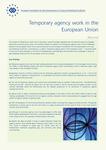 Temporary agency work in the European Union (résumé)