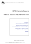 EIRO thematic feature - Industrial relations and undeclared work