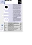 EIRObserver (Issue 1/00)