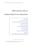 EIRO thematic feature - Industrial relations in the railway sector