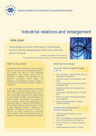 Industrial relations and enlargement (info sheet)