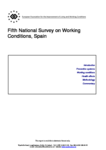 Fifth National Survey on Working Conditions, Spain (report)