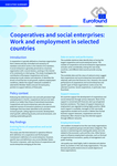 Cooperatives and social enterprises: Work and employment in selected countries - Executive summary