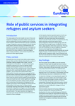 Role of public services in integrating refugees and asylum seekers - Executive summary
