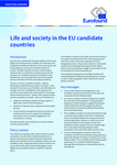 Life and society in the EU candidate countries - Executive summary