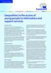 Inequalities in the access of young people to information and support services - Executive summary