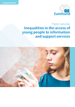 Inequalities in the access of young people to information and support services