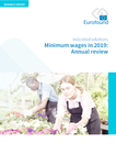 Minimum wages in 2019 - Annual review