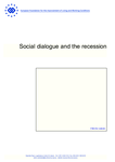 Social dialogue and the recession