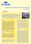 Statutory regulations on severance pay in Europe (info sheet)