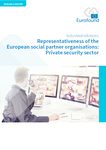 Representativeness of the European social partner organisations: Private security sector