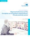 Representativeness of the European social partner organisations: Private security sector