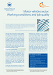 Motor vehicles sector: Working conditions and job quality