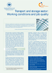 Transport and storage sector: Working conditions and job quality