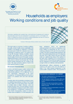 Households as employers: Working conditions and job quality