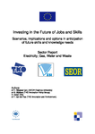 Investing in the future of jobs and skills: Electricity, gas, water and waste - Sector report