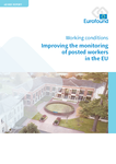 Improving the monitoring of posted workers in the EU