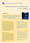 Preventing violence and harassment in the workplace (info sheet)