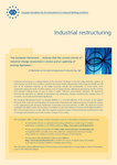 Industrial restructuring (leaflet overview of Foundation work in this area)
