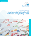 Involvement of national social partners in policymaking – 2019