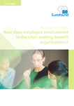 How does employee involvement in decision-making benefit organisations?